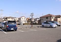 月が丘整骨院の駐車場の写真