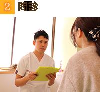 神戸市西区月が丘整骨院の問診