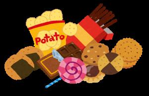 お菓子のイラスト